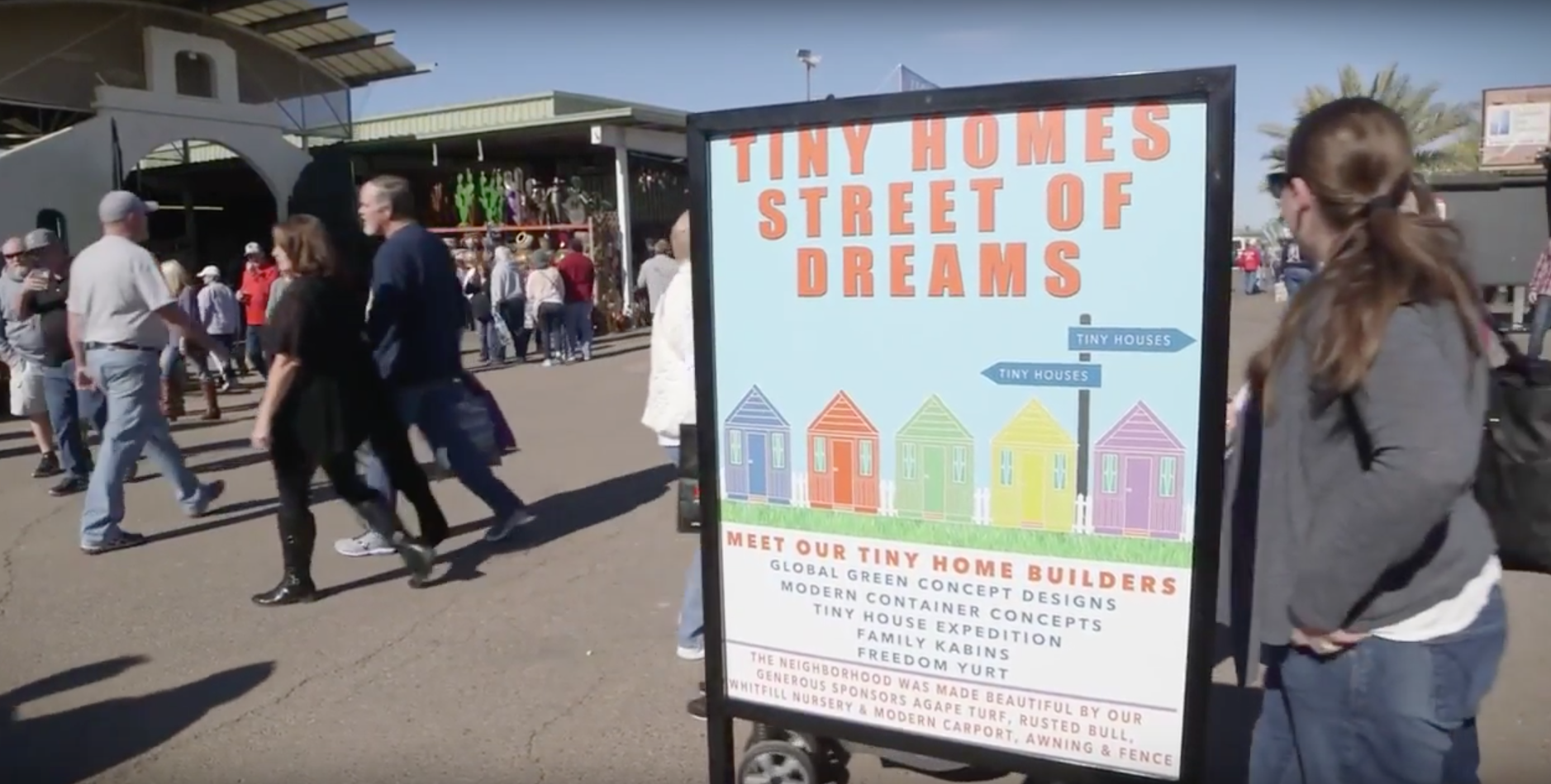 Tiny Houses at the Home Shows