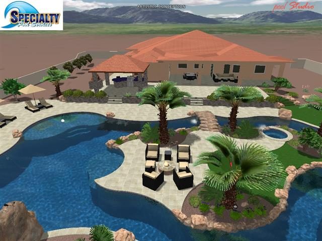 Maricopa county home shows speciality pools for Pool design az