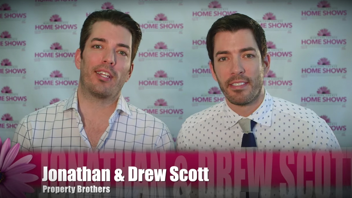 HGTV's Property Brothers at the Home Show