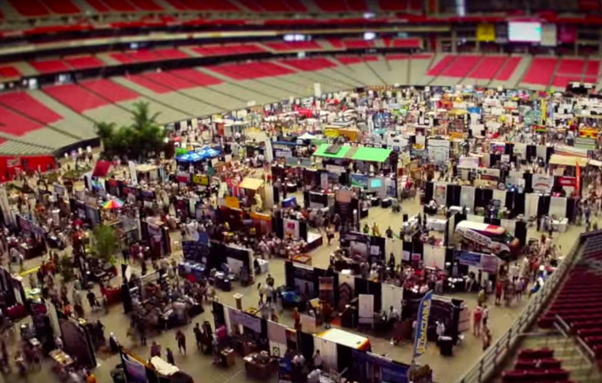 Home Show Time Lapse